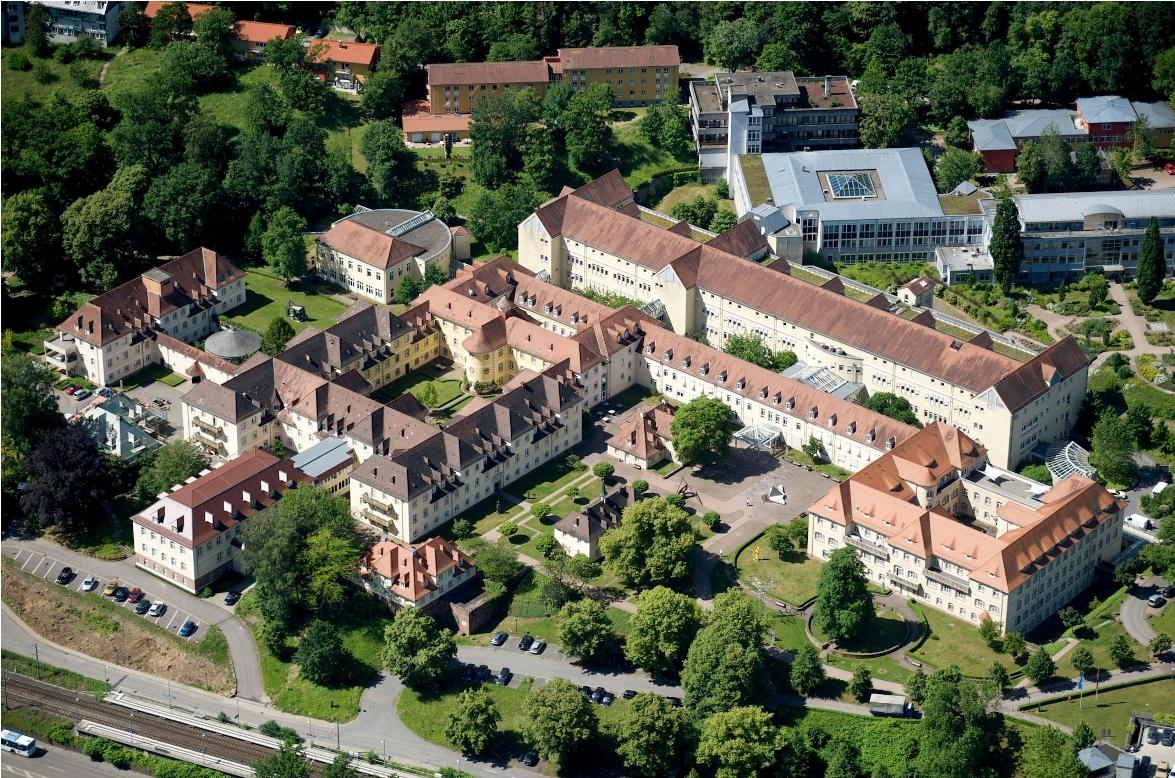 Aerial View Orthopedic Hospital - Heidelberg University Hospital - Университетская клиника Гейдельберга
