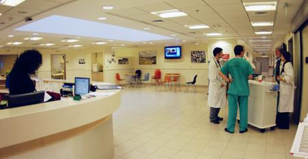Reception - Sheba Medical Center - Медицинский центр Sheba